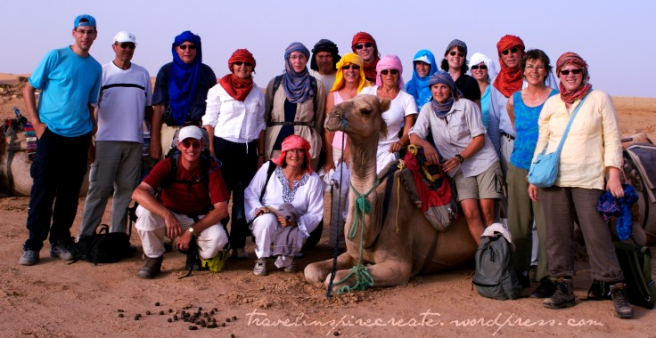 Morocco group photo | Travel Inspire Create