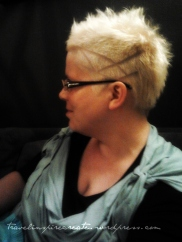 Crazy hairdo