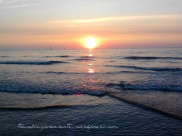 Sunset (Scheveningen beach in the Netherlands)