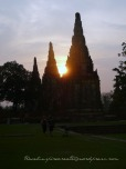 Wat Chai Wattanaram in Ayuthaya (Thailand)