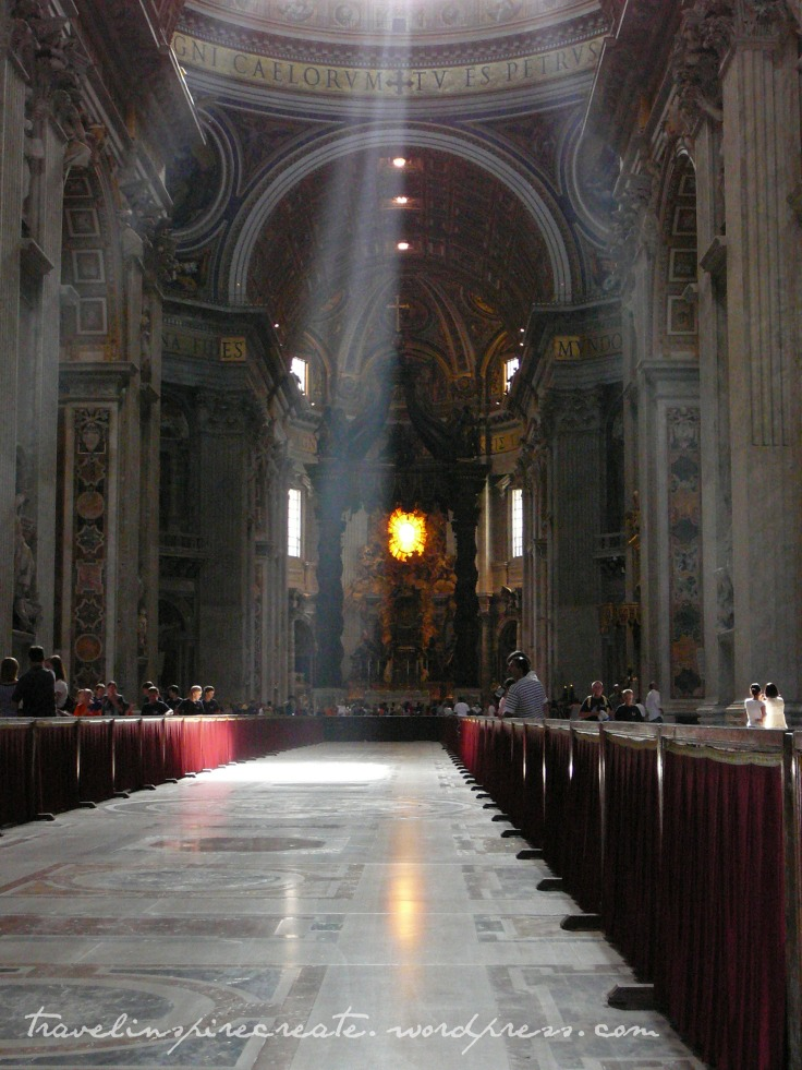 St. Peter's Basilica in Rome (Italy)