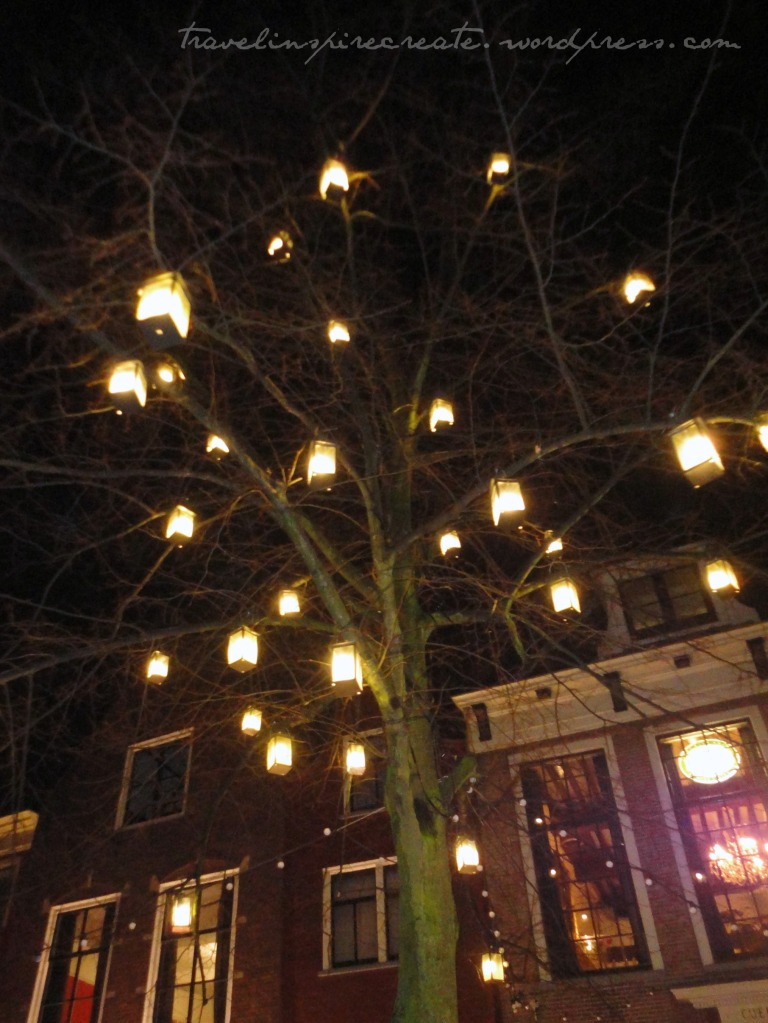 Winter lights in Delft